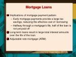 mortgage loans1