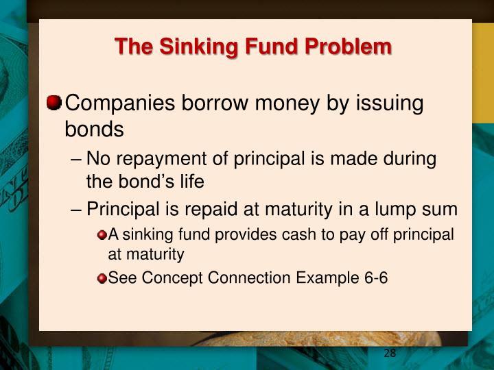 The Sinking Fund Problem