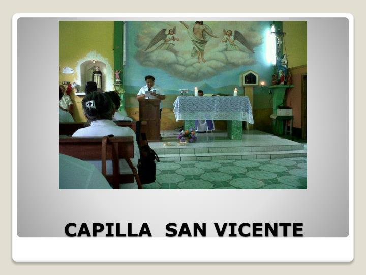 CAPILLA  SAN VICENTE