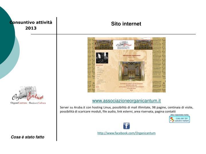 Sito internet