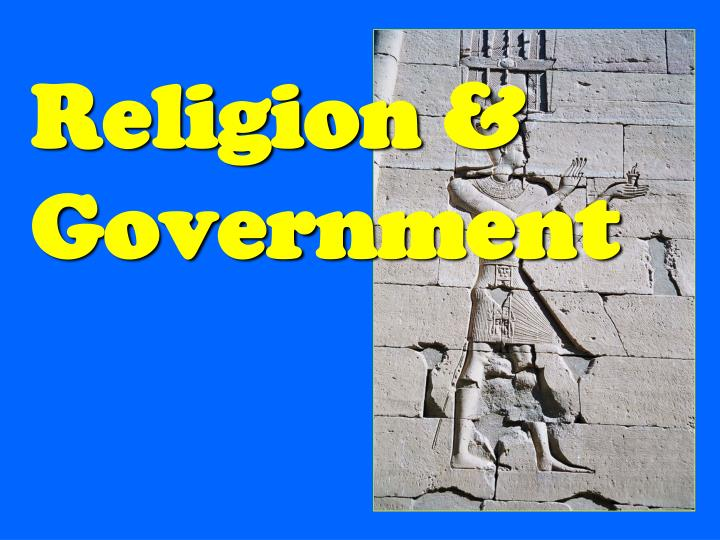 Religion & Government