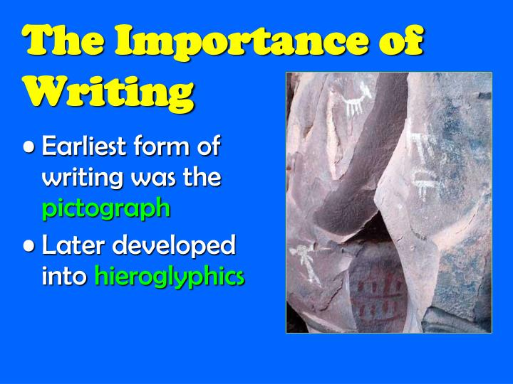 The Importance of Writing