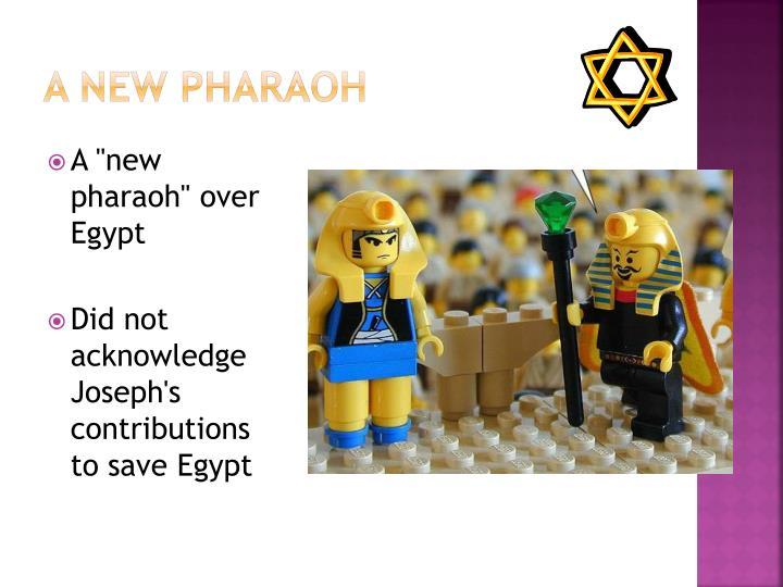 A New Pharaoh