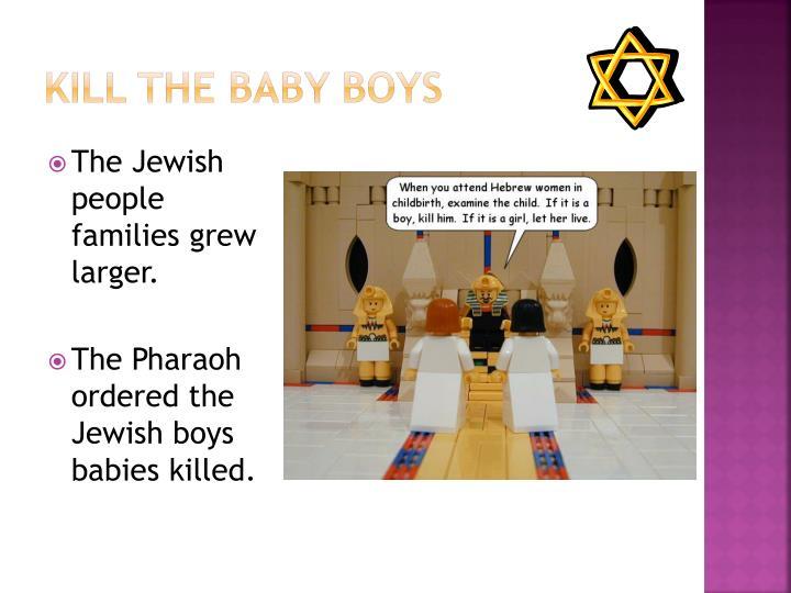 Kill the Baby Boys