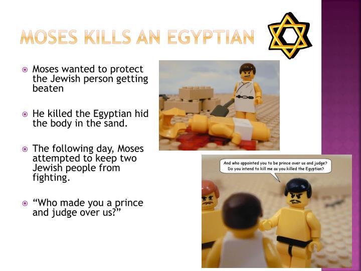 Moses Kills an Egyptian