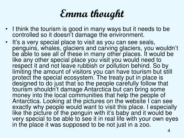 Emma thought