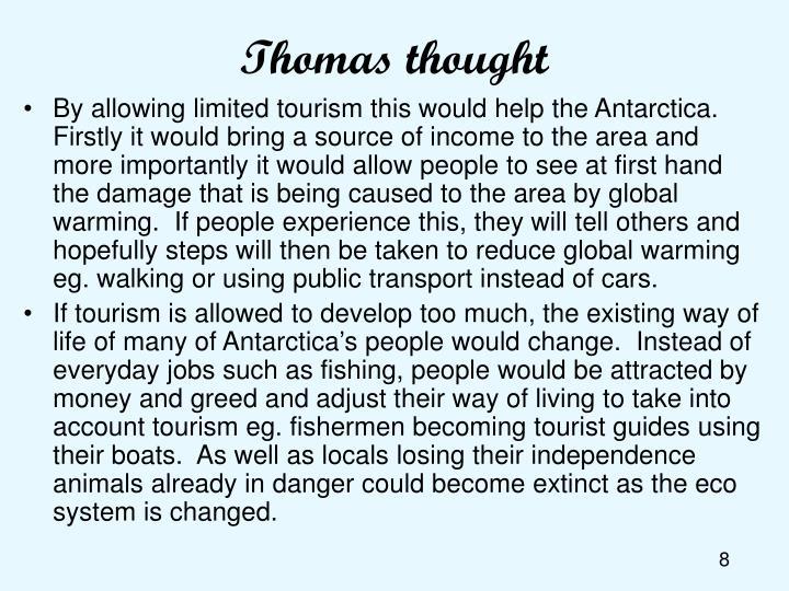 Thomas thought