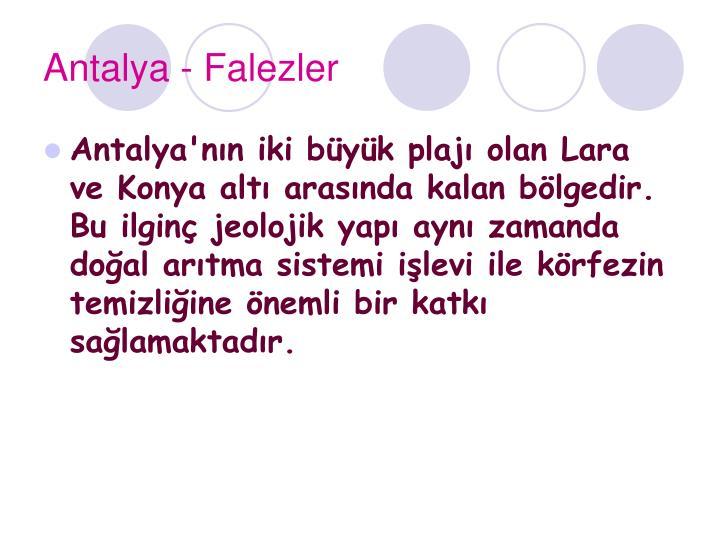 Antalya - Falezler
