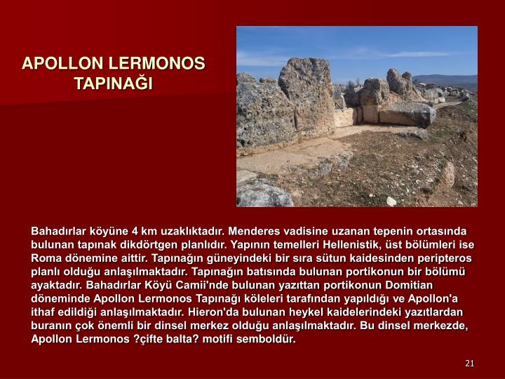 APOLLON LERMONOS