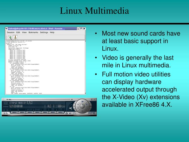 Linux Multimedia