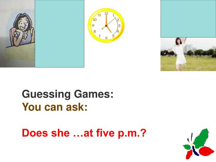 Guessing Games: