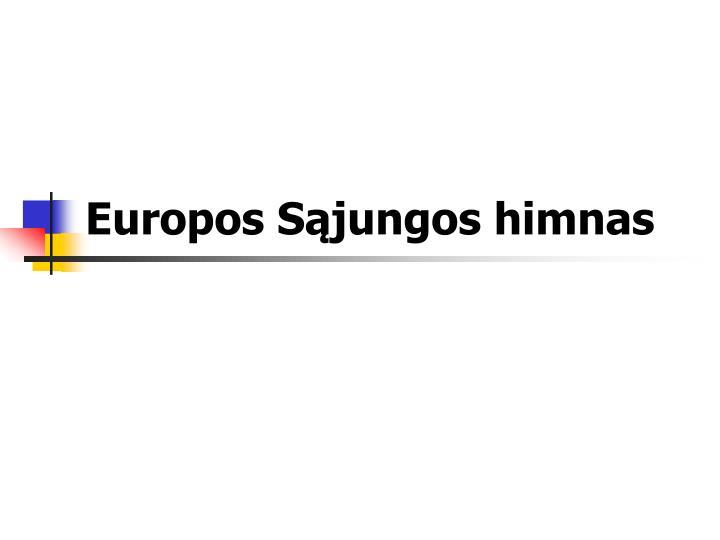Europos Sąjungos himnas