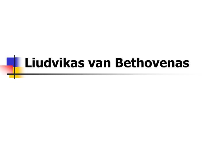 Liudvikas van Bethovenas