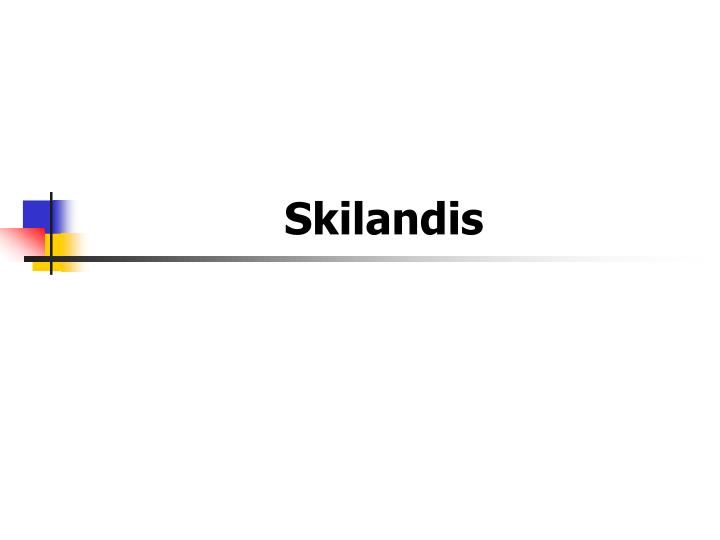 Skilandis