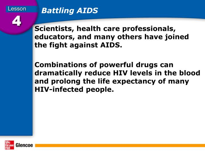 Battling AIDS