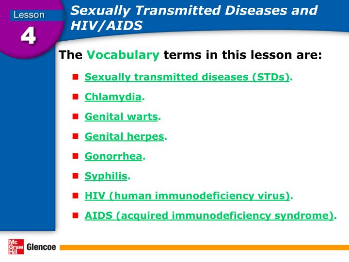 Sexually transmitted diseases and hiv aids1
