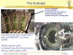 the endcaps