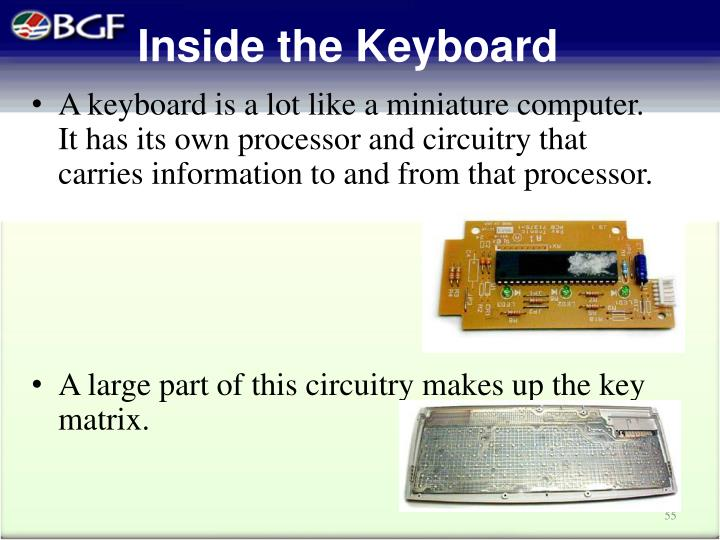 Inside the Keyboard