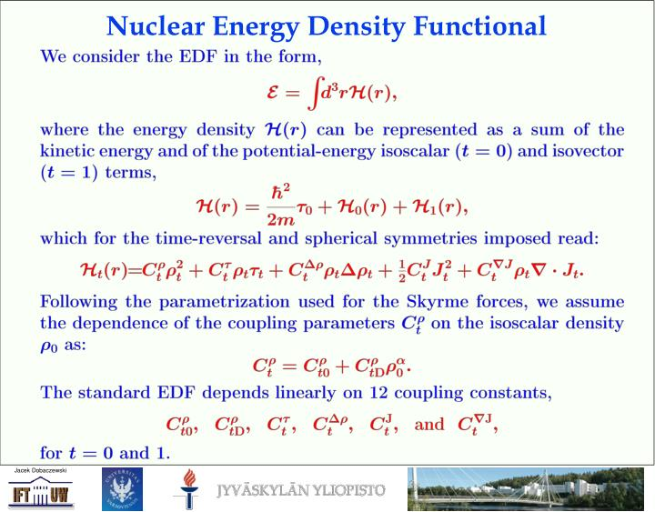 Nuclear Energy Density Functional