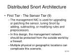 distributed snort architecture11