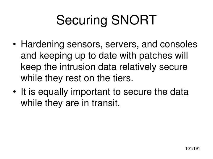 Securing SNORT