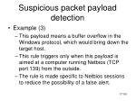 suspicious packet payload detection2
