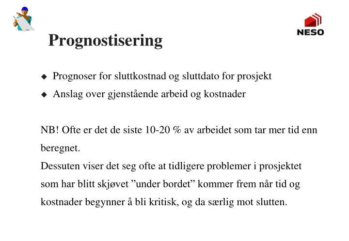 Prognostisering