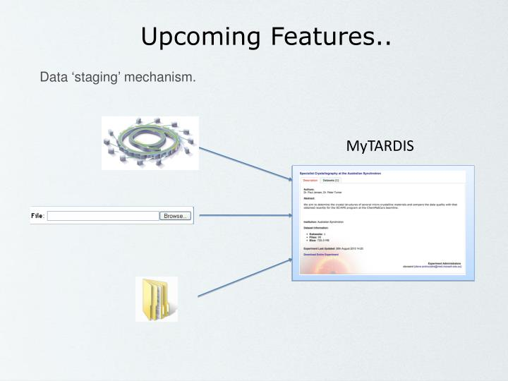 Upcoming Features..