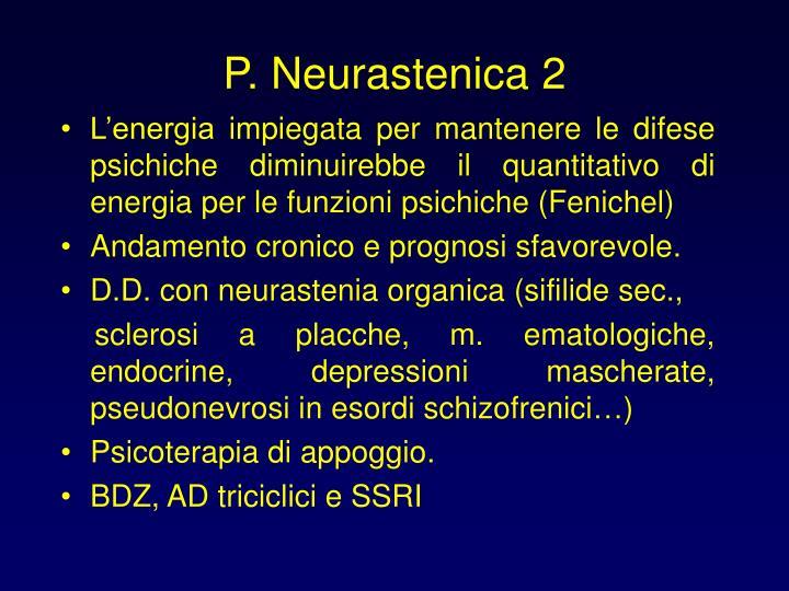 P. Neurastenica 2