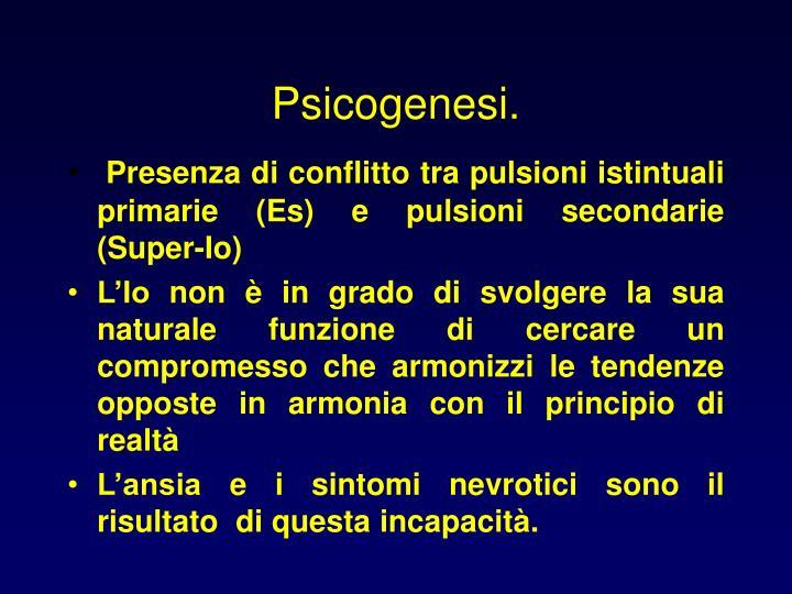 Psicogenesi.