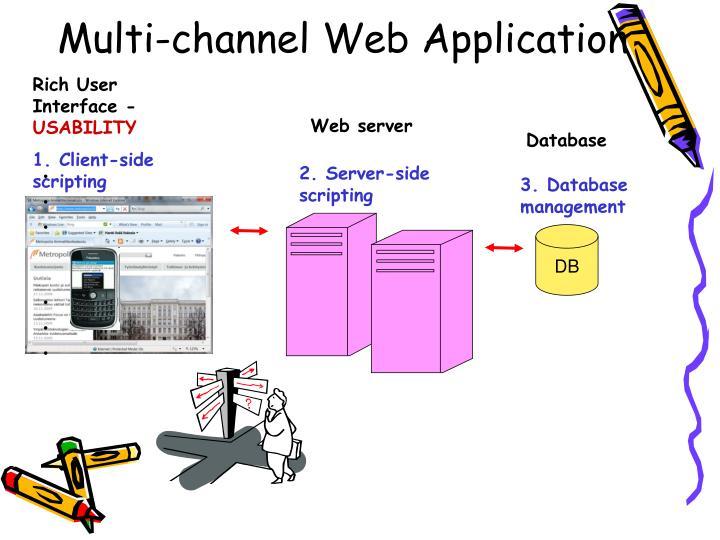 Multi-channel Web Application