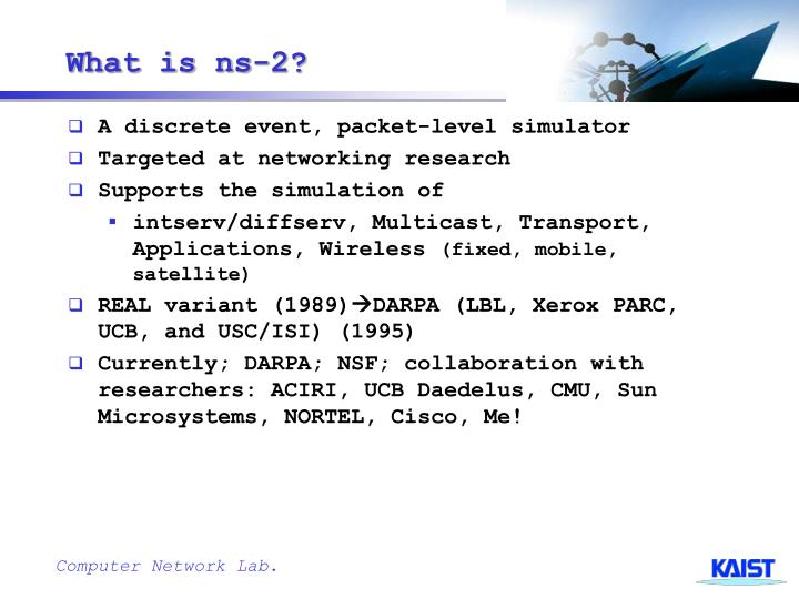 What is ns-2?