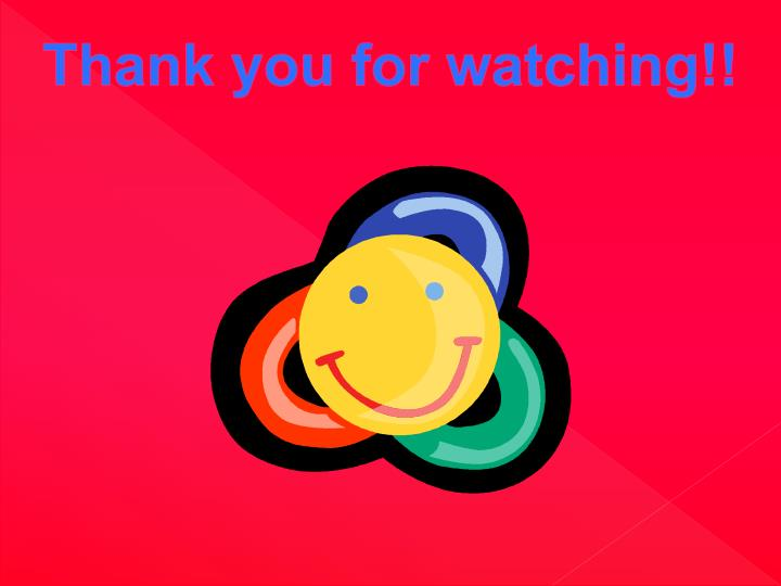 Thank you for watching!!