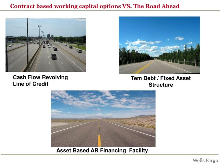 Contract based working capital options VS. The Road Ahead