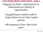 your safety rules of the road page 1