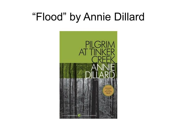 Annie Dillard Questions and Answers