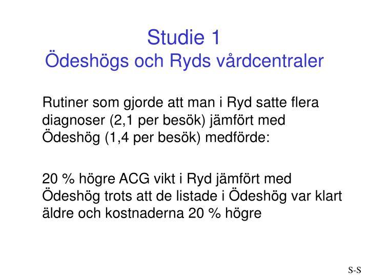Studie 1