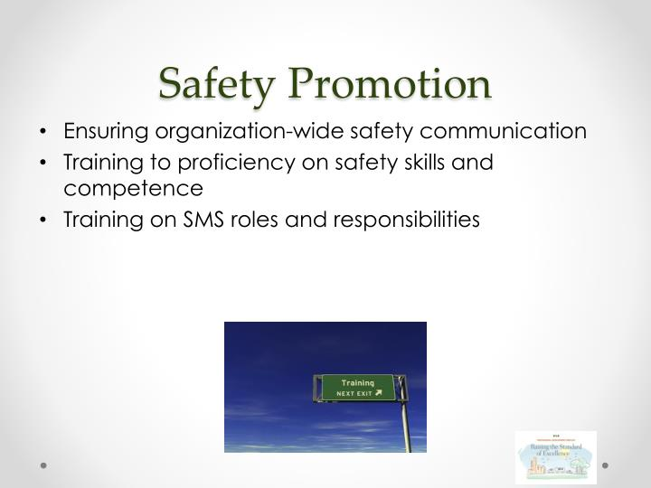 Safety Promotion