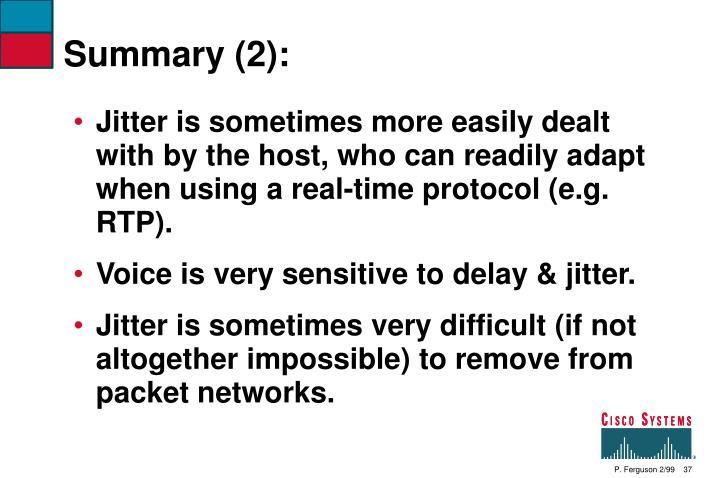Summary (2):