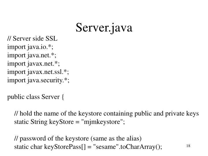 Server.java