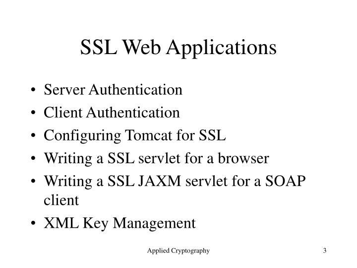 SSL Web Applications