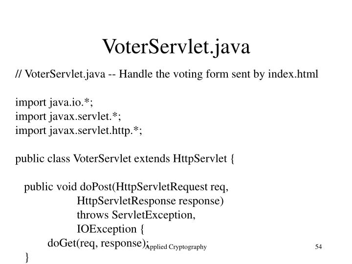VoterServlet.java