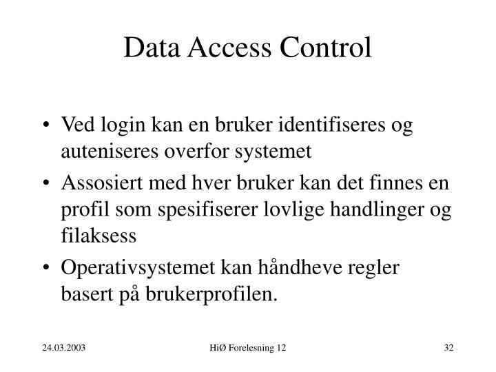 Data Access Control