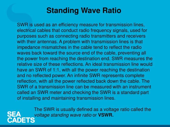Standing Wave Ratio