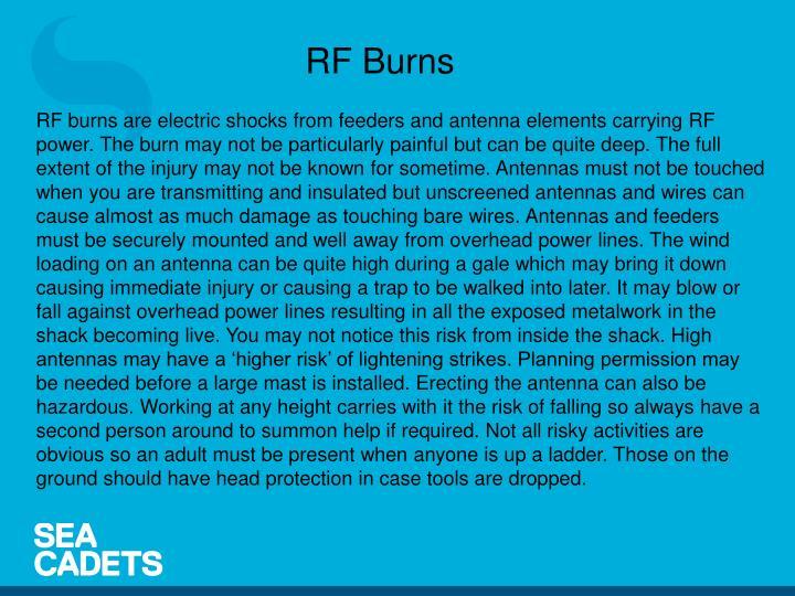 RF Burns