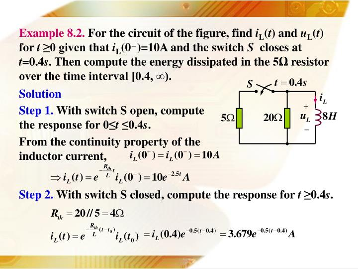 Example 8.2.
