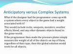 anticipatory versus complex systems4