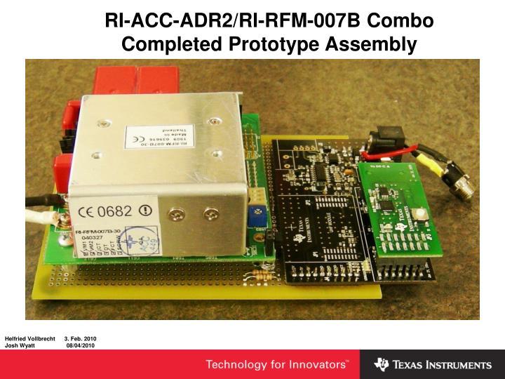 RI-ACC-ADR2/RI-RFM-007B Combo