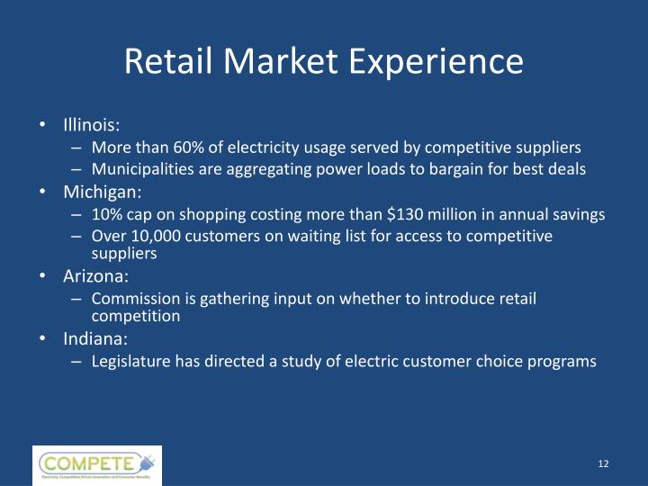 Retail Market Experience