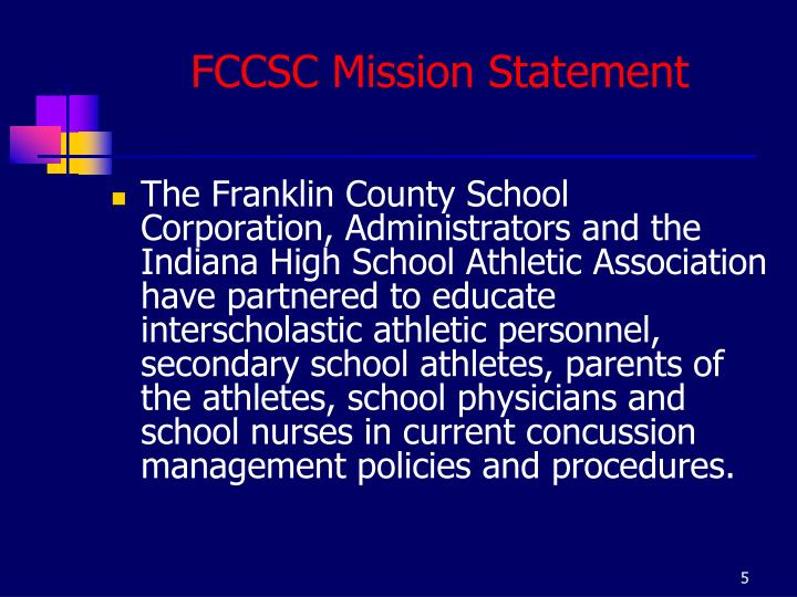 FCCSC Mission Statement